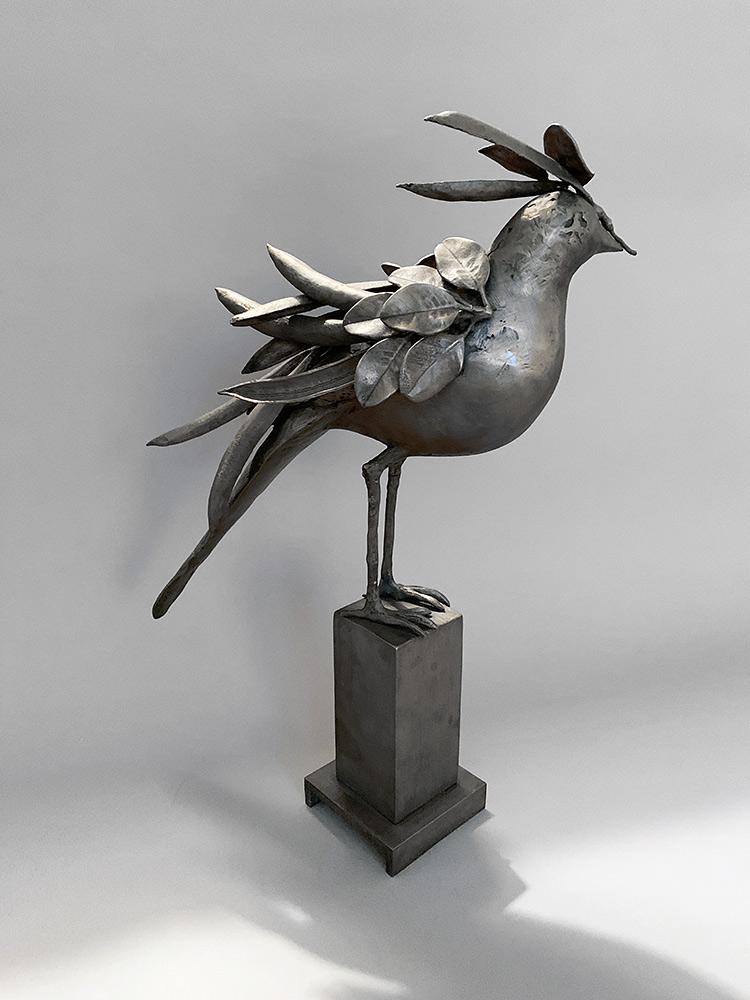 Incognito II, 2020. Unique. Bronze, 18